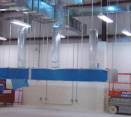 Fabrication/Installation of Metallic and Fiberglass Ductwork