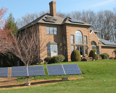 A home featuring our Renewable Energy Systems